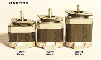 5 Nema 17 Shinano Kenshi Stepper Motors Mill Robot Reprap Makerbot
