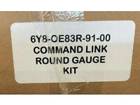 YAMAHA - COMMAND LINK GAUGE KIT - ROUND GAUGE KIT - 6Y8-0E83R-91-00 (NEW)