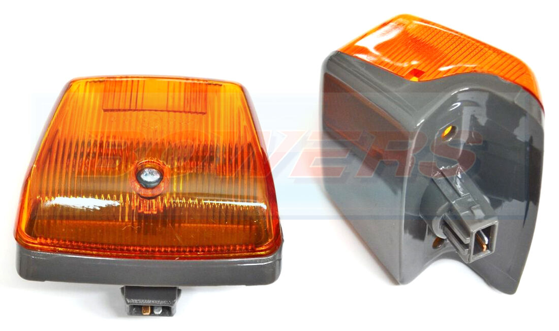 Amber Right Driver Side Indicator Lamp Light