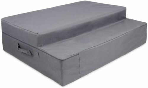 CASE only For Blue Tri-Fold Foam Folding Mattress And Sofa Bed For Guests (FULL)