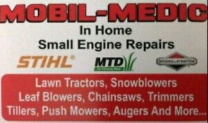 Mobil-Medic. Lawn Mower and Small Engine Repairs. (In Home)