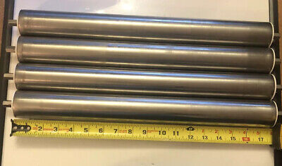 Stainless Conveyor Roller With Kms Bearings Usa Lot Of 4