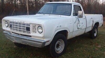 1977 Dodge Other Pickups  1977 Dodge W200 4X4 Pick UpTruck Ram 250