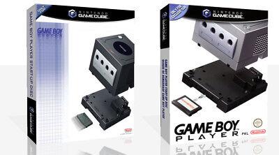 Game Boy Player Start-Up Disk Spiel Würfel Hülle + Karton Kunst Work Abdeckung