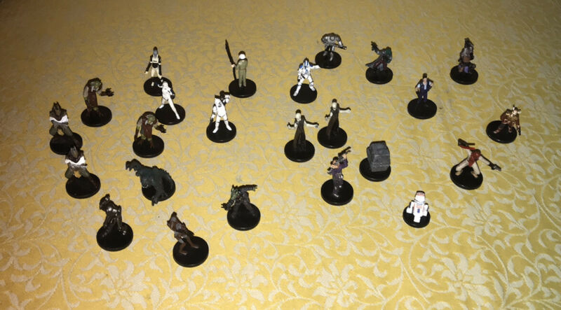 Star Wars WOTC miniatures lot