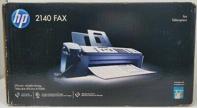 New Hp 2140 Professional Quality Plain Paper Fax Machine Copy Phone Copier