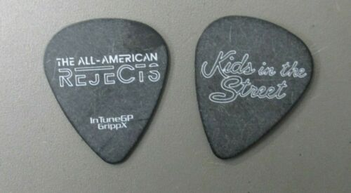 All American Rejects guitar pick Touring Pick Kids in the Street AUTHENTIC !
