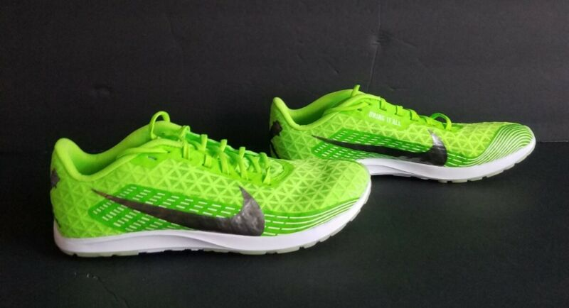 Nike Zoom Rival XC NEW Mens Racing Racing Spikes Electric Green Shoes Size 8