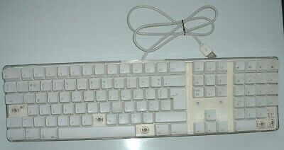 Apple A1048 iMac White USB Keyboard UK QWERTY Layout. Single Key Top ONLY