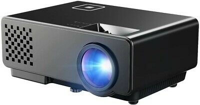 "New Full HD 1080P Portable Mini Home Theater Projector - 35-120"" Picture Size"