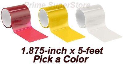 Lens Repair Tape Red, Amber/Orange Or Clear Car Auto Truck RV Broken Light (Lens Repair Tape)