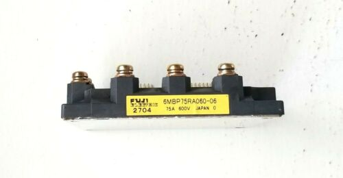 FUJI ELECTRIC MODULE 6MBP75RA060-06