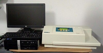 Molecular Devices Spectra Max Plus Plate Reader With Computer Software Loaded