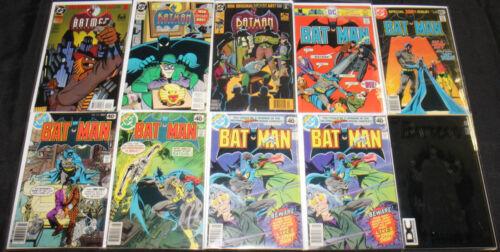 BATMAN COMIC SET/LOT 34PC (VF-NM) SHADOW OF THE BAT GOTHAM NOIR