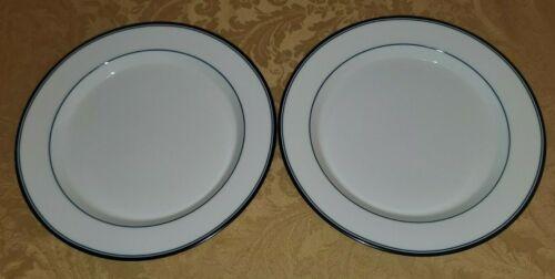 "Dansk Concerto Allegro Blue Set of 2 Dinner Plates 11"" Portugal"
