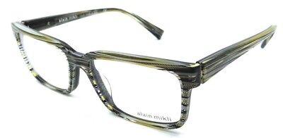 Alain Mikli Rx Eyeglasses Frames A03033 3106 53x17 Yellow / Grey / Black Wires