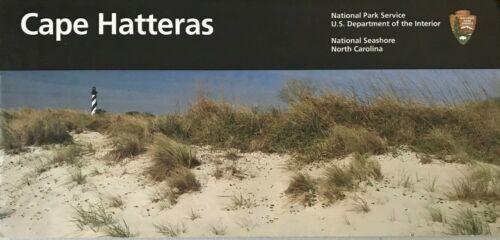 New CAPE HATTERAS SEASHORE - NC   NATIONAL PARK SERVICE UNIGRID BROCHURE  Map