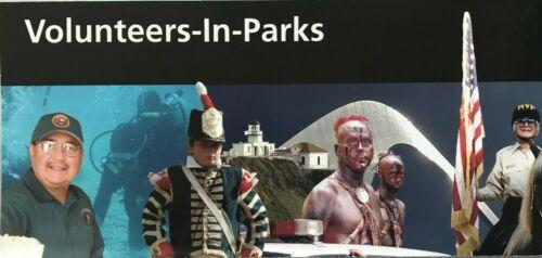 New VOLUNTEERS - IN - PARKS  NATIONAL PARK SERVICE UNIGRID BROCHURE