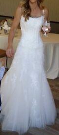 Pronovious wedding dress size 8