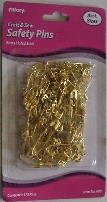 Разное SAFETY PINS 5/PACKS ASSORTED SIZES