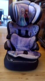Disney Frozen Anna And Elsa Car Seat
