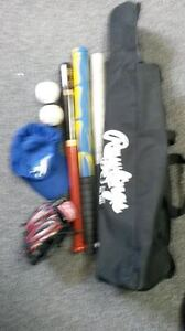 Jr. Child's RAWLINGS 8 PC. NEW BASEBALL PACKAGE