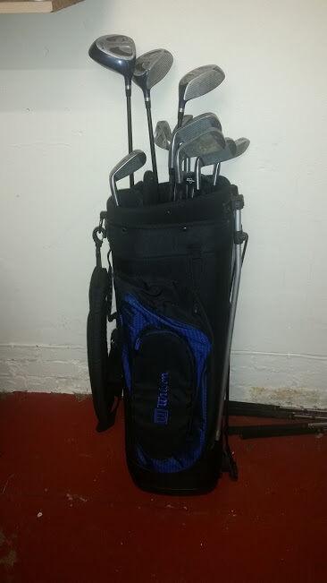 Wilson Chamber Golf Clubs Full Set Bag