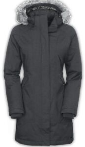 """MANTEAU PARKA HIVER NEUF """" THE NORTH FACE """" FEMME SMALL GRIS"""