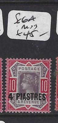 BRITISH LEVANT (P1206B) QV  4 PI/ 10D  SG    6A   MOG