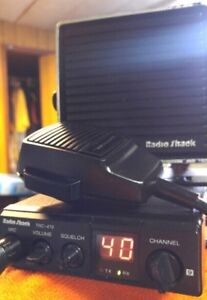 **READ AD**Radio Shack TRC-479 CB Radio Package - 60.00 FIRM
