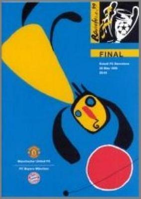 1999 CHAMPIONS LEAGUE FINAL - MAN UTD v BAYERN MUNICH