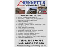 BENNETT'S ROOFING & BUILDING - FREE QUOTES - NORTH WALES, CHESHIRE, WIRRAL - COMPETITIVE RATES