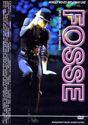 FOSSE (2001) DVD - Ben Vereen, Ann Reinking (New & Sealed)