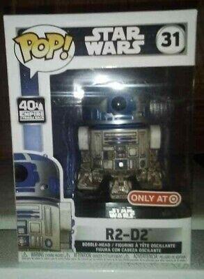 HOT RARE POP! STAR WARS R2-D2 DAGOBAH #31 TARGET EXCLUSIVE! IN HARD