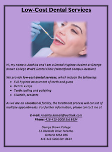 Affordable Dental Services at GBC
