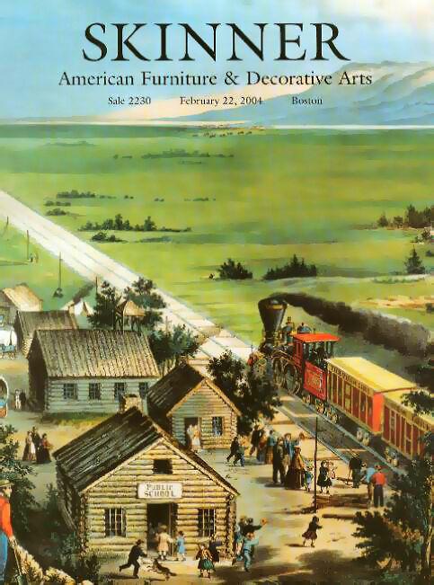 Skinner / Americana Furniture Folk Art Post Auction Catalog 2004