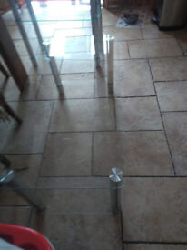 Matrix Glass Coffee Table
