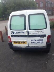 Citreon berlingo 1.9. MOT until sept 2017 Good runner usual dents and marks for age of van.
