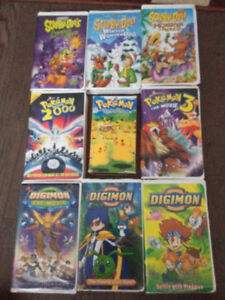 9 VHS For Sale