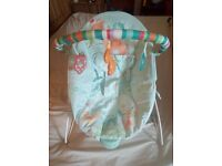 bright stars baby bouncer vibrating chair