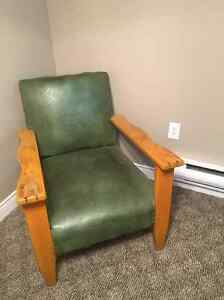 Real Leather Arm chairs for sale