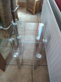 Matrix Glass Nest Tables