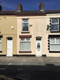 15 Lind Street, Walton L4 4EG off county road, 2 bed mid terrace house new kitchen.