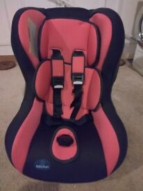 BABY START CAR SEAT (GROUP 0-1) SUIT BIRTH TO 18KG