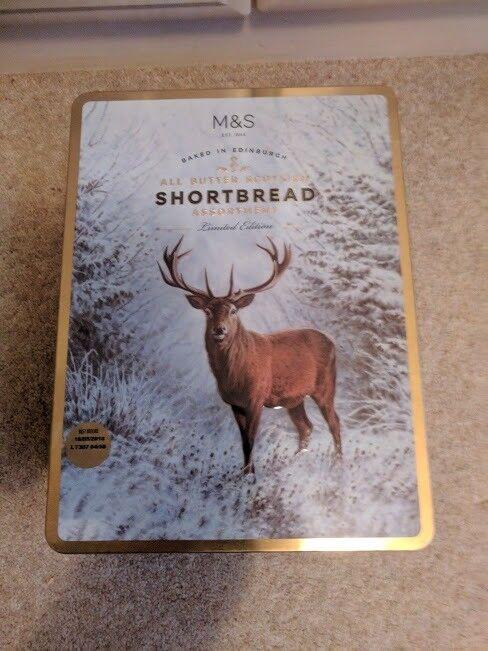 Marks & Spencer Tin of Shortbread Assortment