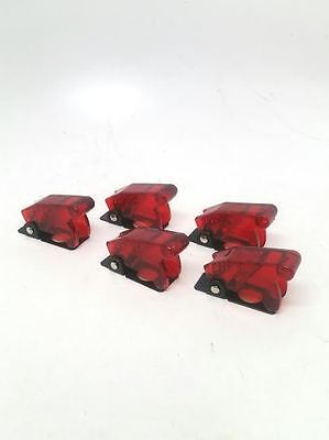 Pactrade Marine X5 Red Safety Switch Flip Cap Cover Rv Auto Boat Toggle Switch