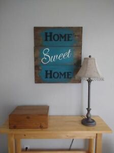 HAND PAINTED RUSTIC WOOD SIGNS Peterborough Peterborough Area image 2