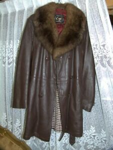GENUINE LEATHER CRAFT OF CANADA WINTER COAT FOR MEN