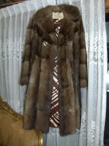 GENUINE LEATHER AND FUR BY LEONARD WINTER COAT FOR WOMEN $30