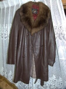 GENUINE LEATHER CRAFT OF CANADA WINTER COAT FOR MEN FOR $30
